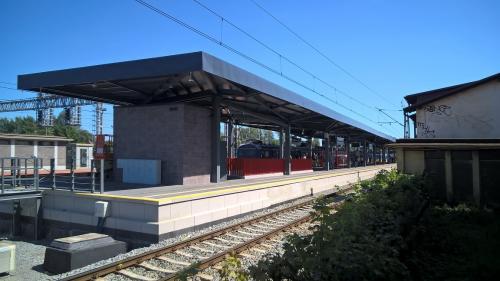 budowa dworca w Gdyni Chyloni