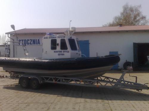 Remont jednostki dla armatora Urzędu Morskiego w Gdańsku. Rok 2009
